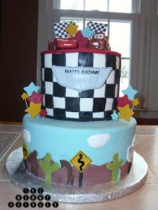 cars cake 23