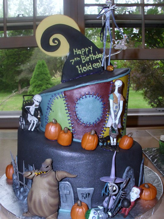 nightmare before christmas cake 2