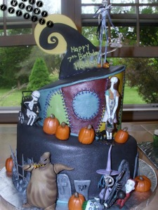 nightmare before christmas cake 23