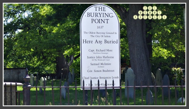 burying point