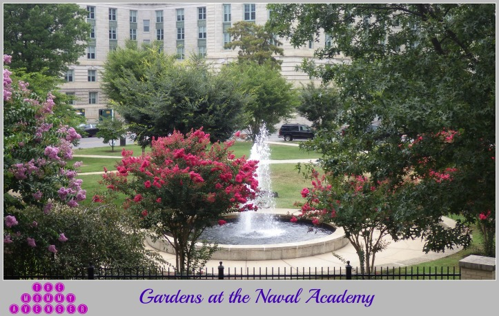Gardens at the Naval Academy