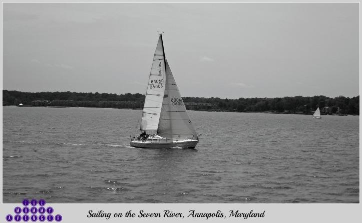 Sailing the Severn River