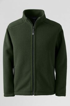 Lands' End Sherpa fleece jacket