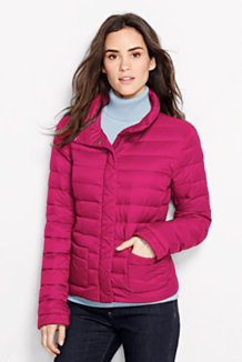 lands end packable lightweight down jacket