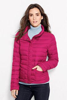 lands end packable lightweight down jacket
