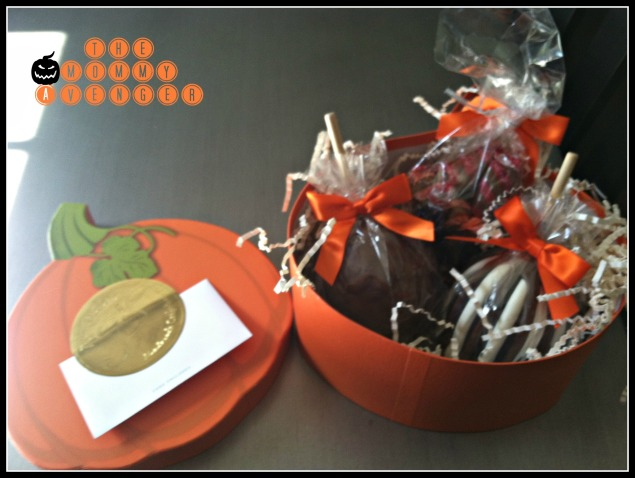 Mrs. Prindable's Pumpkin Gift Box