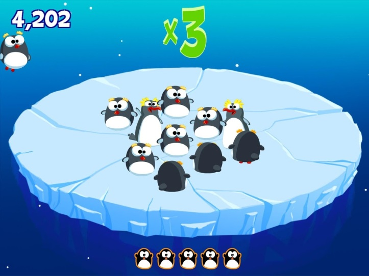 Stay Off the Ice SeaWorld Kids app