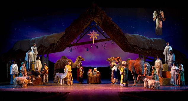 O Wondrous Night -- Shares the greatest story never told, with more than 30 carols, based upon The Christmas Story and told through the eyes of a variety of live animals.