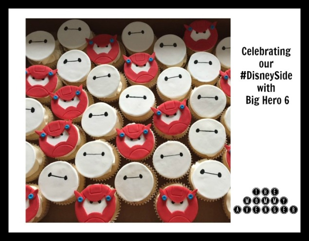 Big Hero 6 cupcakes DisneySide