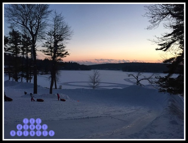 Woodloch Pines sunset