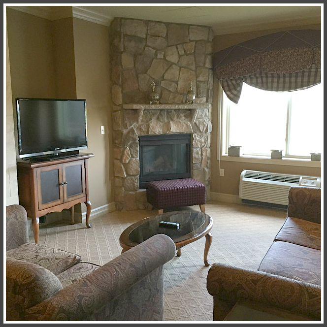living area suite