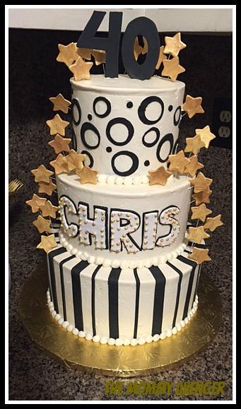 40th cake c
