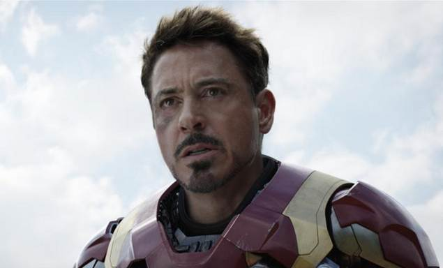 civil war iron man