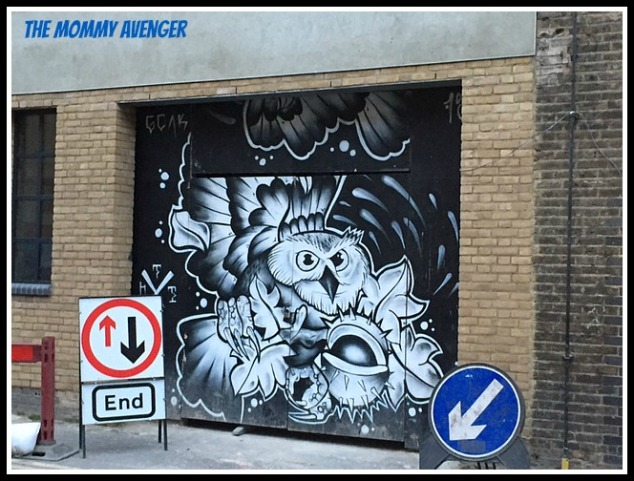 London Street Art 2 Mommy Avenger