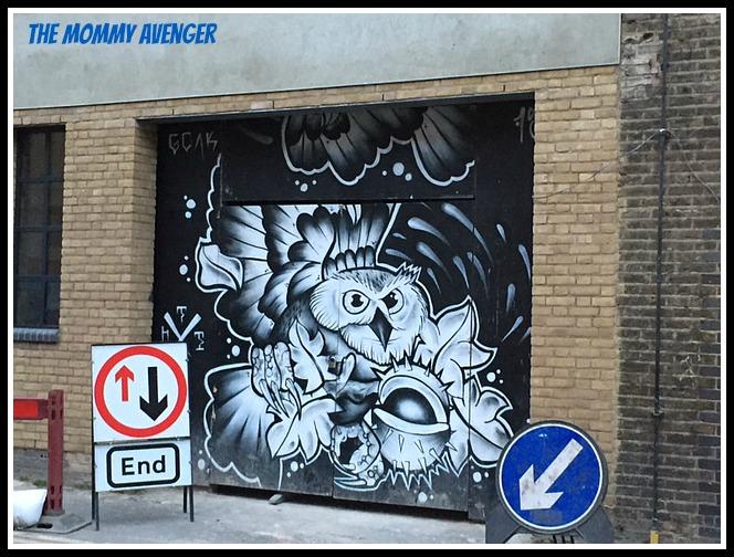 London Street Art 2 Mommy Avenger