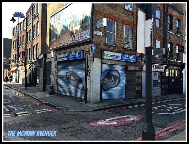 London Street Art 7 The Mommy Avenger