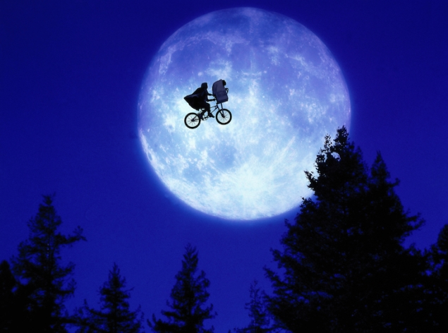 E.T. Over the Moon