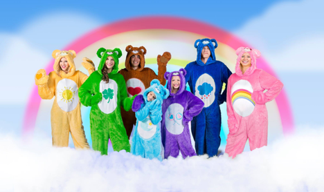 Thatu0027s what Fun.com and American Greetings Entertainment thought too when they partnered together to create a line of Care Bear costumes for both adults ... & Have an 80u0027s Halloween « THE MOMMY AVENGER