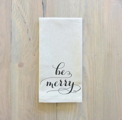 be merry napkins