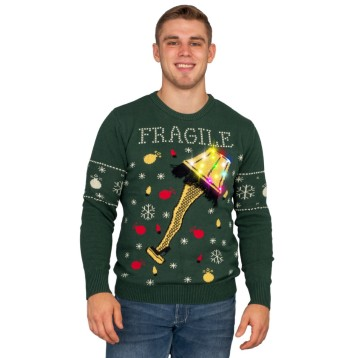 A-Christmas-Story-Fragile-Leg-Lamp-Light-Up-LED-Lighting-Ugly-Christmas-Sweater-1