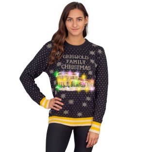 Women's-Griswold-Family-Christmas-Ugly-Christmas-Sweater-–-LED-Lights-2